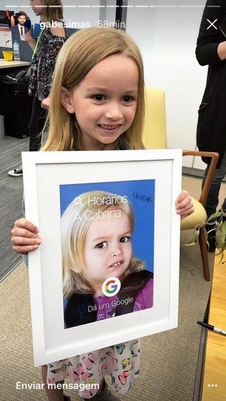 Reunião de memes: Chloe encontra Giovanna (do forninho) em São Paulo! 4