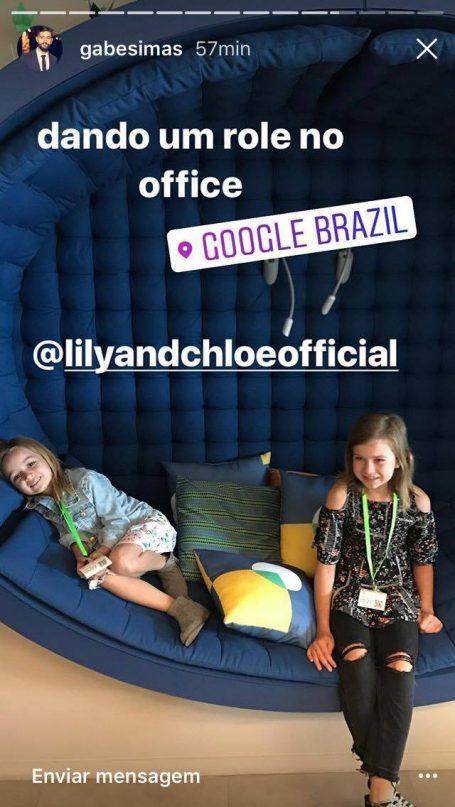 Reunião de memes: Chloe encontra Giovanna (do forninho) em São Paulo! 5