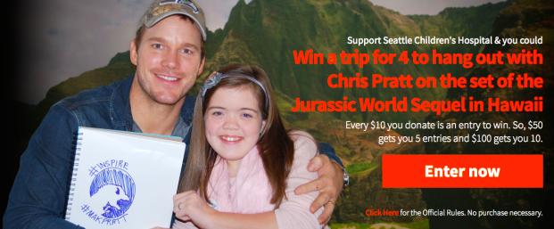 10 motivos porque Chris Pratt é o ator mais legal de Hollywood 3