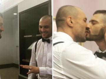 ex-lutador de MMA se casa