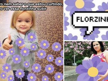 """botão de """"florzinha"""""""