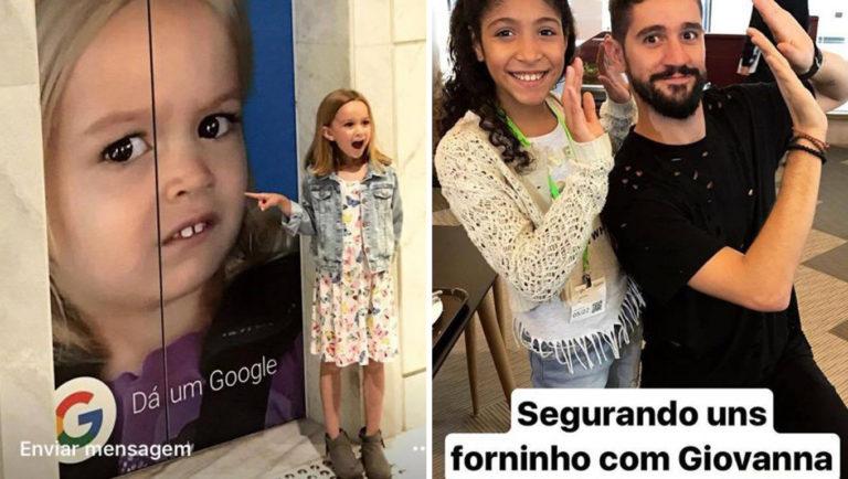 Reunião de memes: Chloe encontra Giovanna (do forninho) em São Paulo! 1