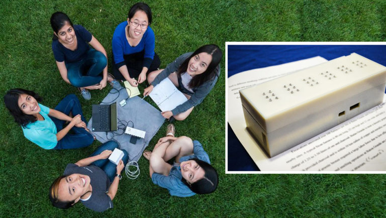 dispositivo braille