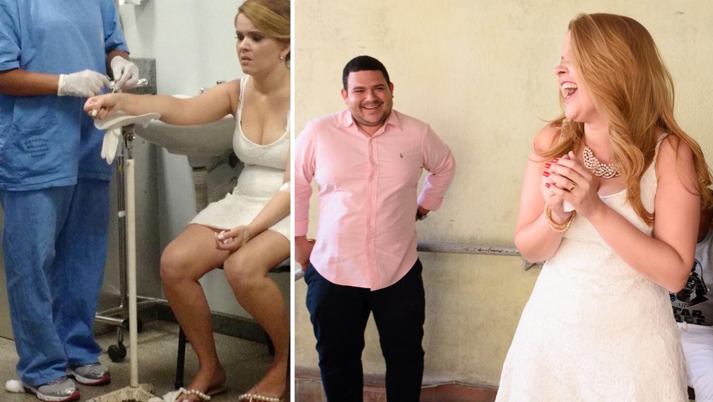 Noiva passa mal e perde própria festa de casamento em BH, mas amigos fazem linda surpresa 1