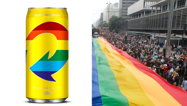 skol bandeira LGBT
