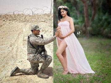 militar-grávida