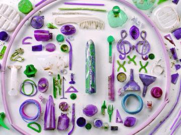 vibradores plástico oceano
