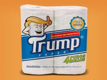 papel higiênico