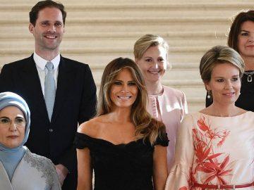 Foto do marido do primeiro-ministro de Luxemburgo com primeiras-damas faz sucesso 3