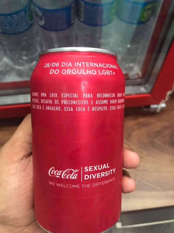 """Latinha especial contra o preconceito: ''Essa Coca-Cola é Fanta, e daí?"""" 3"""