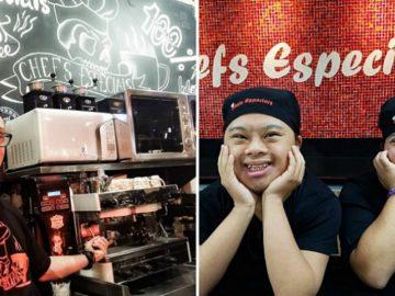 primeiro café Chefs Especiais