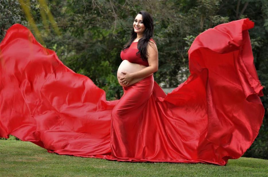 Enfermeira faz book de gestantes carentes para que elas não parem de cuidar da gravidez e faz exposição com as fotos 7