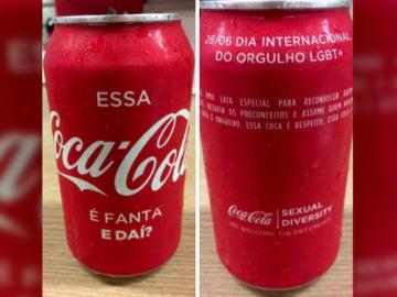 """Latinha especial contra o preconceito: ''Essa Coca-Cola é Fanta, e daí?"""" 1"""