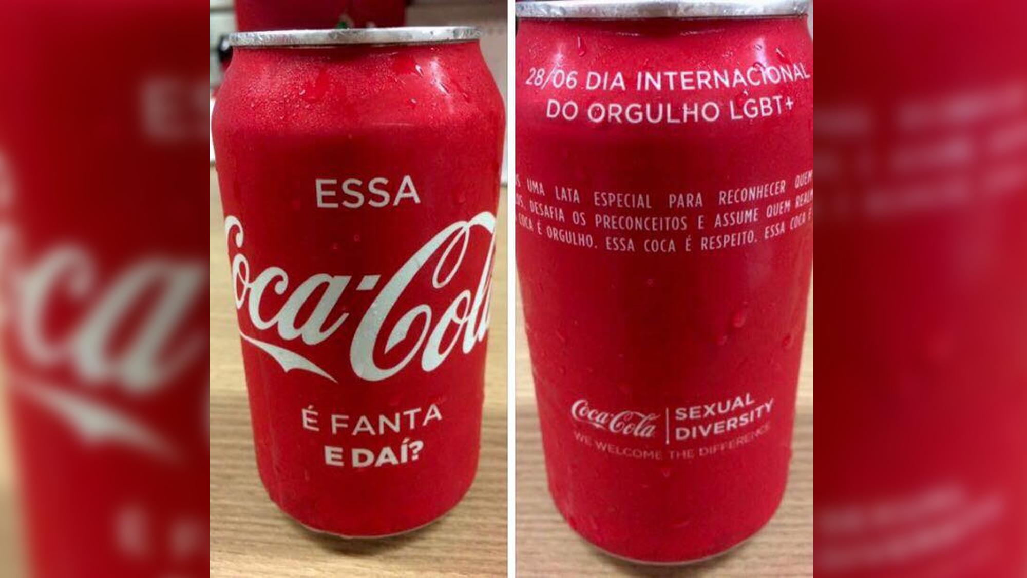 """Latinha especial contra o preconceito: ''Essa Coca-Cola é Fanta, e daí?"""" 4"""