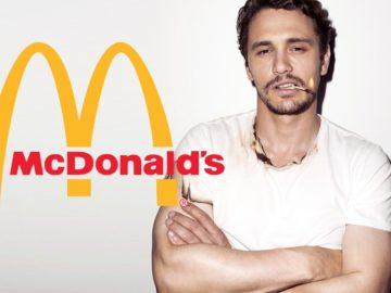 McDonald's james franco
