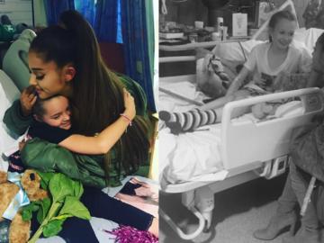 Ariana Grande hospital fãs