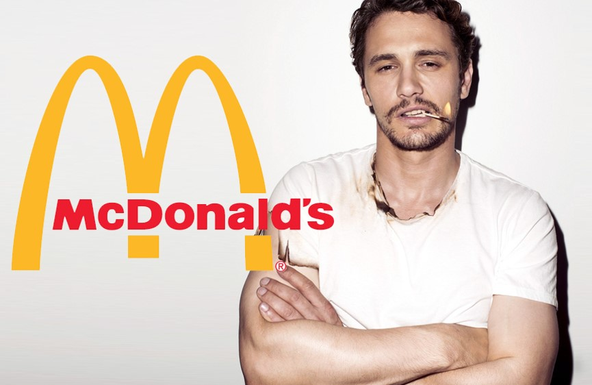 McDonald's james franco