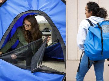 Jovens de baixa renda criam barraca-mochila para moradores em situação de rua 2