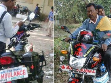 Homem Ambulância leva pacientes para hospital distante por conta própria 3