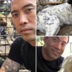 Homem arrisca a própria vida para salvar mais de mil cães em Festival de Carne de Cachorro na China 4