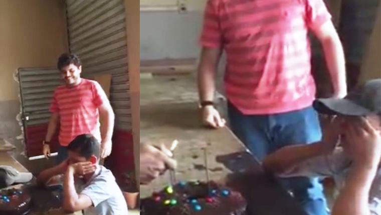 Vídeo de menino trabalhador que ganha festa surpresa vai te ajudar a encarar melhor o dia 2