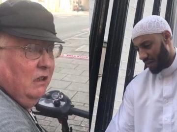 Mulher viaja em Londres em sua scooter para se desculpar com líder religioso 6