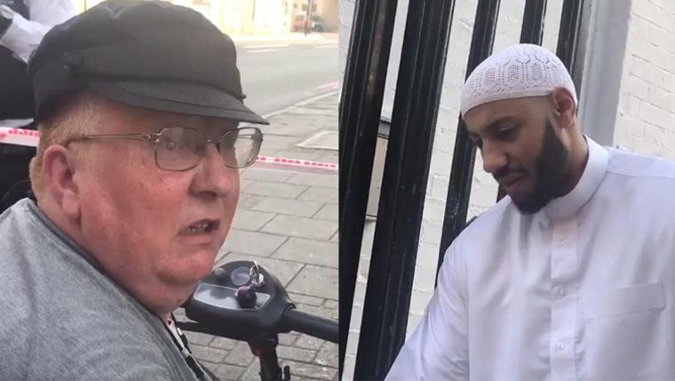Mulher viaja em Londres em sua scooter para se desculpar com líder religioso 4