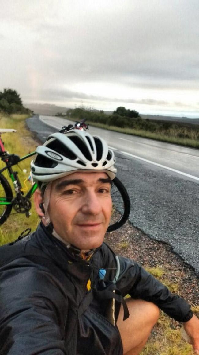 Ciclista sai de Porto Alegre e viaja mais de 1000 km para ver a filha em Florianópolis 3
