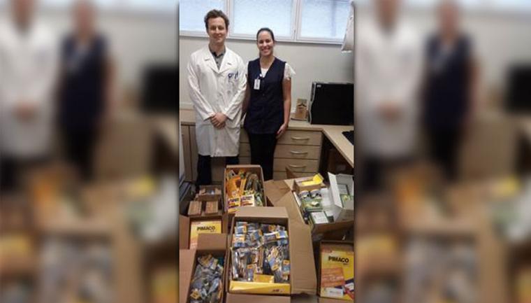 Após tratamento contra o câncer, paciente doa R$ 11 mil em materiais para hospital 2
