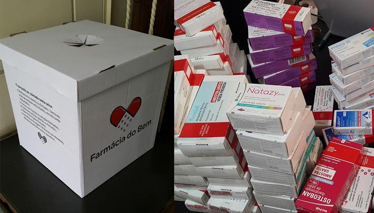 Aplicativo incentiva doação de remédios para pessoas de baixa renda 2