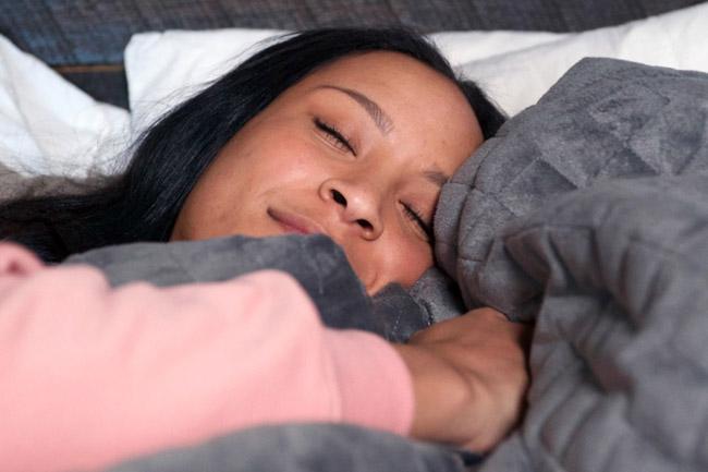 cobertor reduz ansiedade