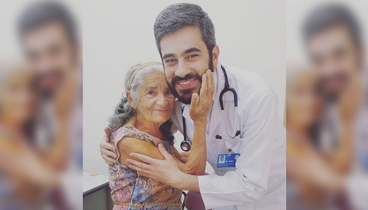 """""""Ela me curou"""", diz médico após consulta de idosa com câncer 1"""
