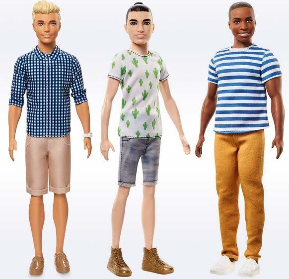 Bonecos Ken ganham novos tipos de corpo, diferentes tons de pele, cores de olhos e cabelo 5