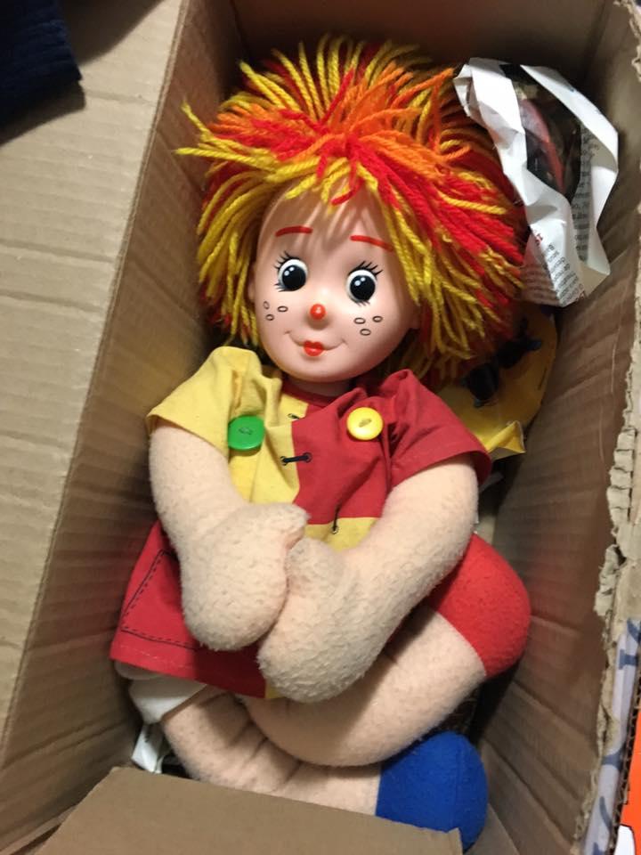 presente gratidão boneca emília