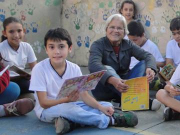 Dona Marta, os livros e sua encantadora rede de leitores em escola de Campinas 8