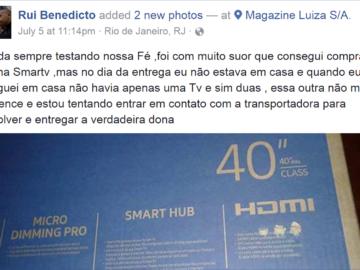 morador de favela rio TV