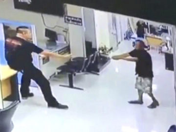 faca abraço policial