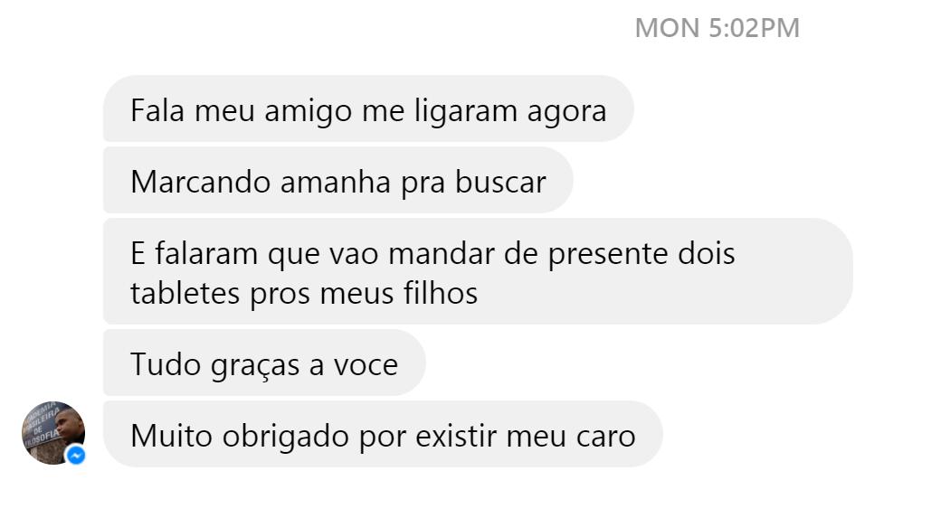 """Morador de favela do Rio recebe TV em casa por engano e procura verdadeira dona: """"não me pertence"""" 2"""
