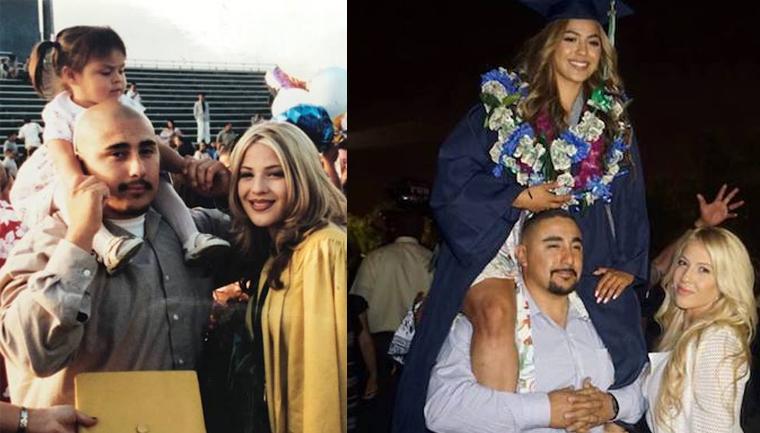 Jovem compartilha fotos 'antes e depois' para honrar pais que a tiveram quando eram adolescentes 5