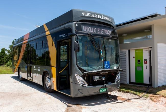 Em Floripa, ônibus elétrico movido a energia solar roda mais de 10 mil km em 2 meses 3