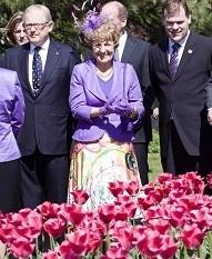 Desde 1945 Holanda envia ao Canadá milhares de tulipas em forma de agradecimento 2