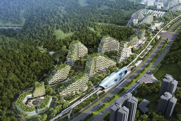 Primeira cidade 100% sustentável do mundo será construída na China 4