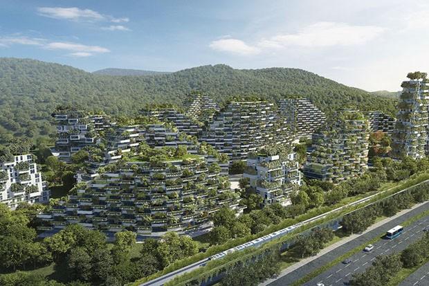 Primeira cidade 100% sustentável do mundo será construída na China 5