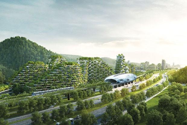 Primeira cidade 100% sustentável do mundo será construída na China 2