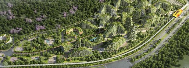 Primeira cidade 100% sustentável do mundo será construída na China 3