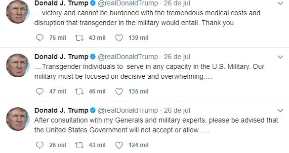Após proibição de Trump, Canadá convida militares transexuais a se alistarem no país 1