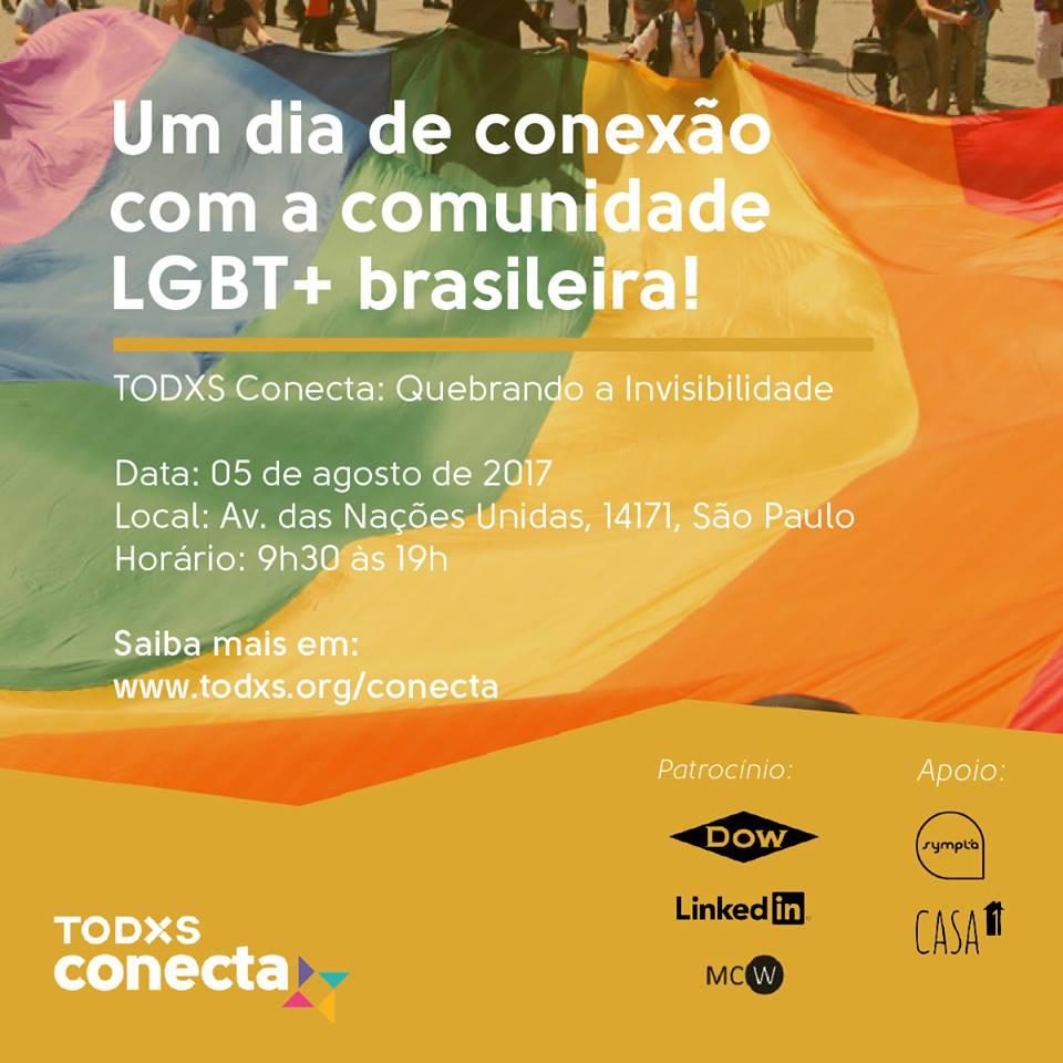 Evento reunirá em São Paulo ativistas, pesquisadores, empresários e artistas LGBT+ para apresentarem suas ações e histórias 1