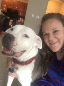Mulher adota pit bull prester a morrer para lhe dar o amor que nunca teve 5