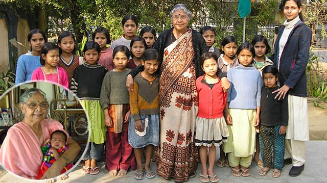 Após perder sua filha, indiana já adotou 800 meninas abandonadas 1