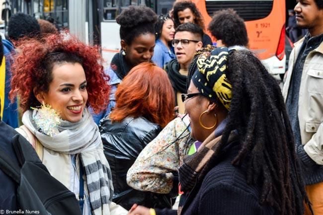 Quem são e o que pensam as mulheres da 3ª Marcha do Orgulho Crespo de São Paulo 18